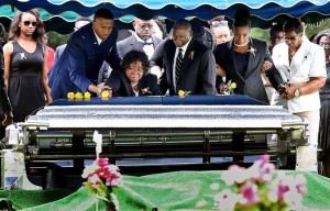 Walter Scott funeral roses