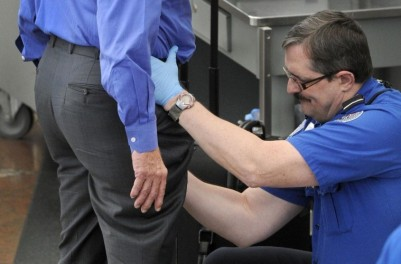 TSA groin grab