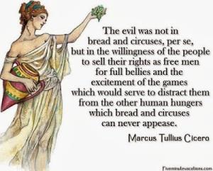 Cicero - Roman bread and circuses