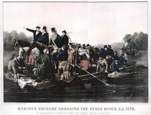 Marion crossing Pee Dee