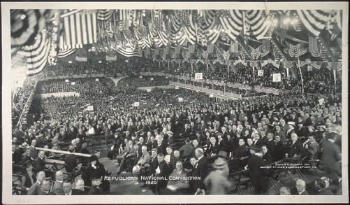 Republican National Conv 1920