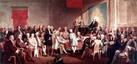 signing the Constituion 1787