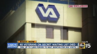 VA scandal vets die waiting